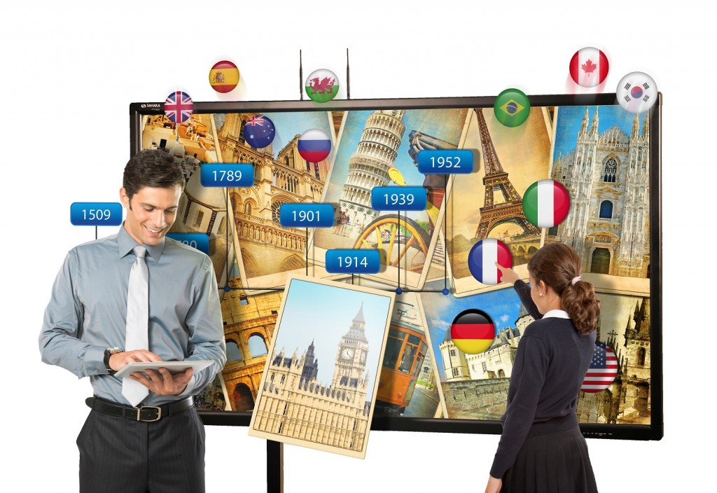 clevertouch 84 inch