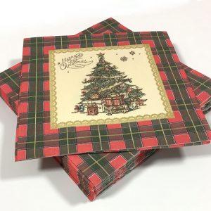 73092 - 33x33 Happy Christmas