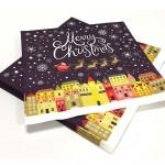 73092 - 33x33 Merry Christmas