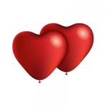 Balon srce 80 cm