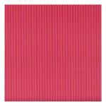 Papir rebrasti pink