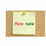 Pluta table